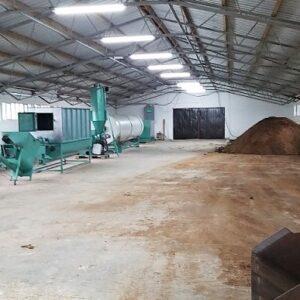 Pogon za proizvodnju organskog peletiranog đubriva